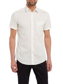 Diesel Short Sleeve Geo Print Shirt