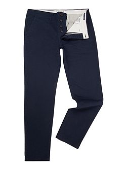 Casual Slim-Fit Chinos
