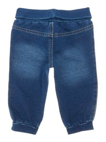 Benetton Baby Unisex Soft Jogger Denim Jean