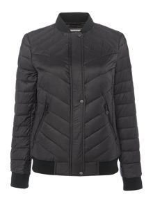 Bernardo Primaloft packable down bomber