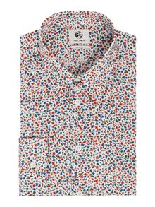 PS By Paul Smith Formal Ditsy Floral Shirt