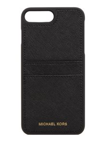 Michael Kors Black iphone 7 plus phone cover