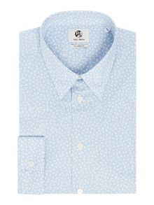 PS By Paul Smith Formal Dancing Monkeys Print Shirt