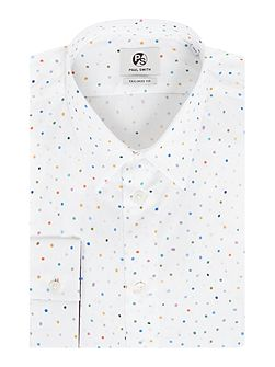 Formal All Over Spot Print Shirt