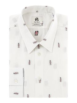 Formal Cockatoo Random All Over Print Shirt Shirt