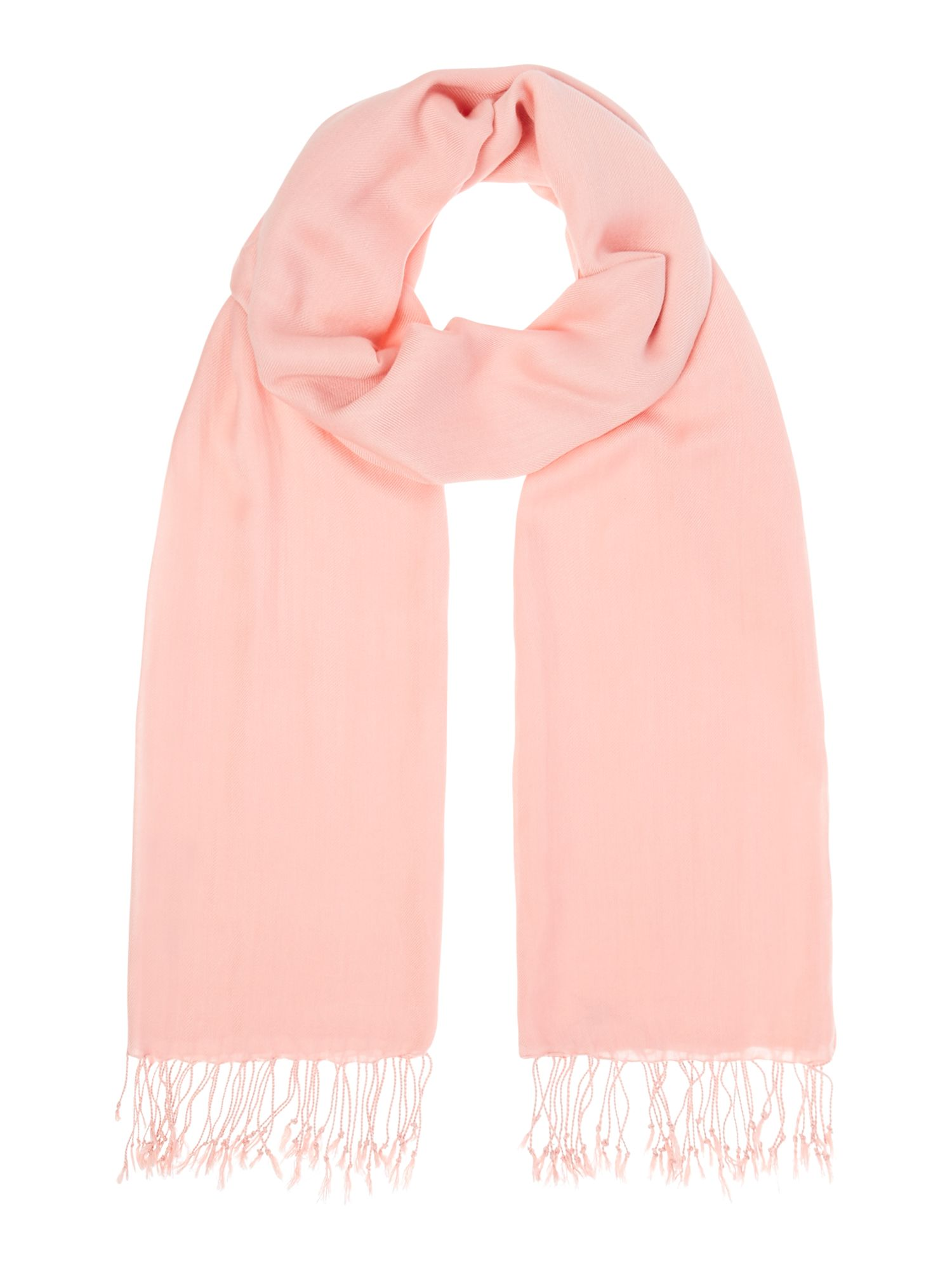 Suzanne Bettley Large shawl, Peach
