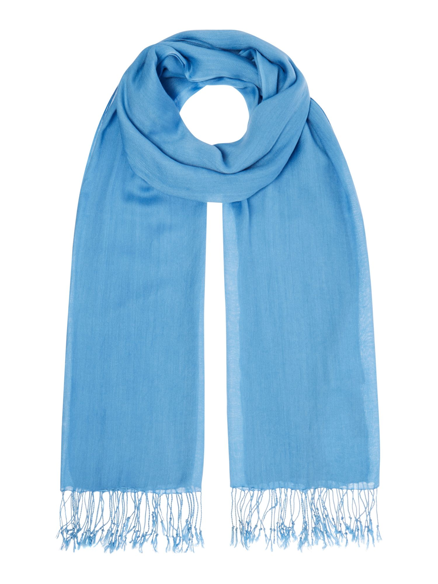 Suzanne Bettley Large shawl, Blue