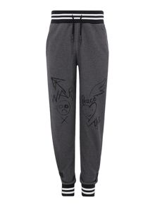 Vivienne Westwood Worker striped cuff tracksuit bottoms