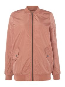 Vero Moda Long Bomber Jacket