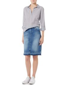 Maison De Nimes Kinny Denim Skirt