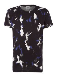Vivienne Westwood Squiggle Cross Crew Neck T-Shirt