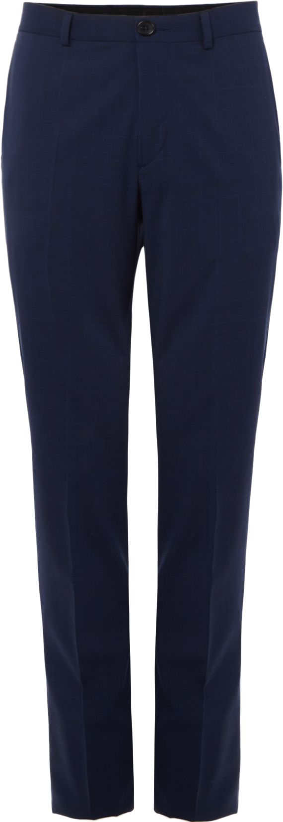 Men's PS By Paul Smith Mohair Wool Suit Trousers, Blue