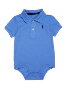 Polo Ralph Lauren Baby Boys Small Logo All-In-One Body