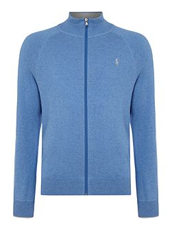 Full zip pima cotton sweat