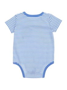 Polo Ralph Lauren Baby Boys Striped All-In-One Body