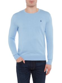 Polo Ralph Lauren Long sleeve crew neck cotton cashmere jumper
