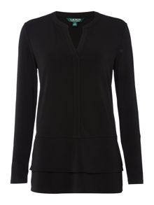 Lauren Ralph Lauren Evarica long sleeve tunic