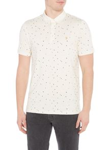 Farah Jude Printed Polo Shirt