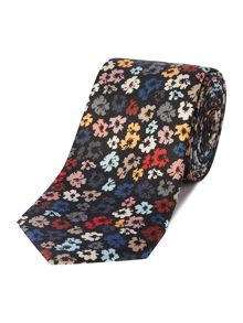 PS By Paul Smith Floral Printed Silk Tie