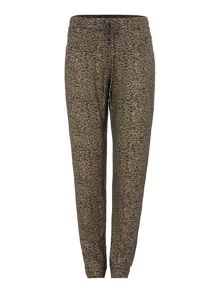 Biba Luxe casualwear gold fleck lounge trousers