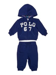 Polo Ralph Lauren Baby Boys Polo Logo Tracksuit Set