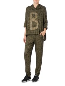 Biba Luxe casualwear embellished hooded jumper