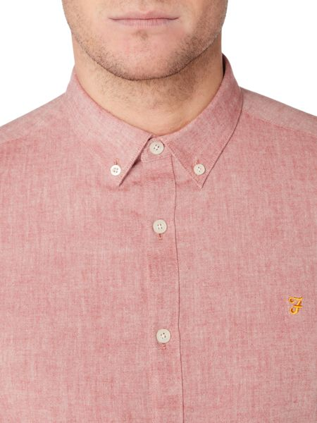 Farah Steen slim fit oxford shirt