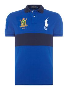 Polo Ralph Lauren Custom fit short sleeve crest polo player polo