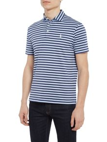 Polo Ralph Lauren Slim fit pima cotton stripe short sleeve polo