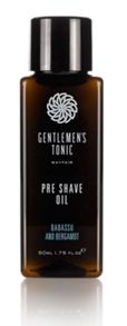Gentlemens Tonic Pre Shave Oil 50ml