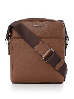 Harrison Saffiano Leather Small Crossbody Bag