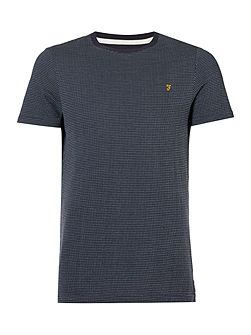 Lawrence jaquard textured t-shirt
