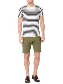 Farah Lennox striped t-shirt