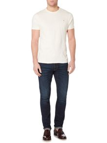 Farah Kent textured pattern t-shirt