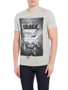 Diesel Radio graphic t-shirt