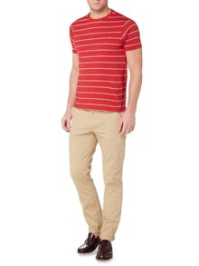 Farah Hamilton double stripe t-shirt