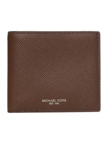 Michael Kors Harrison Saffiano Leather Billfold Wallet