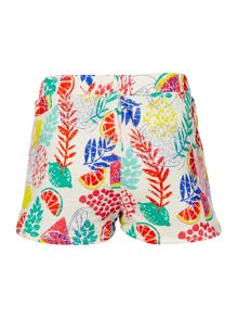 Little Dickins & Jones Girls Floral Print Short