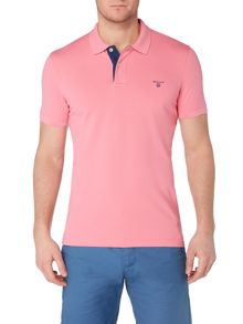 Gant Contrast Collar Cotton Polo-Shirt
