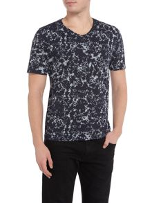 Hugo Boss Topmost all-over floral print t-shirt