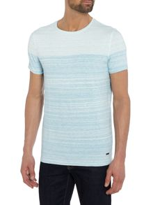 Hugo Boss Trumble faded stripe t-shirt
