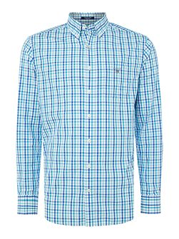 Bright Gingham Check Long Sleeve Shirt