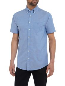 Gant Washed Pin-Point Short-Sleeve Oxford Shirt