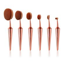 Iconic London Complete EVO Brush Set of 6 - Rose Gold