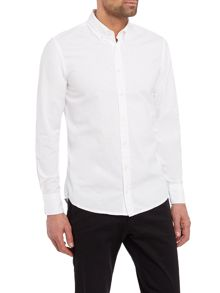 Hugo Boss Long-sleeve oxford shirt