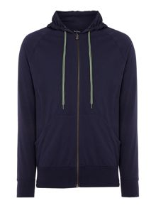 Paul Smith Jersey Zip Hooded Sweatshirt