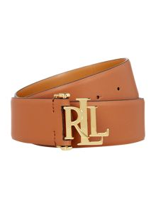 Lauren Ralph Lauren Large signature monogram dress belt