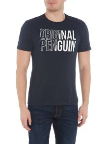 Original Penguin Contrast Logo Short-Sleeve Cotton T-shirt