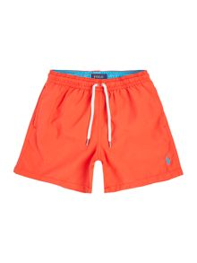 Polo Ralph Lauren Boys Small Logo Solid Swim Shorts