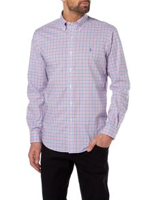 Polo Ralph Lauren Long sleeve custom fit poplin check shirt